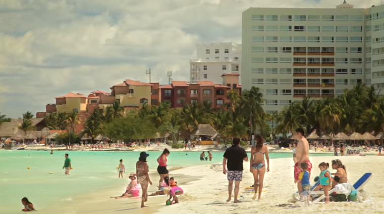 Cancun Gov't Says They Are Totally Safe To Visit : News
